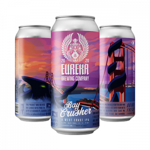 Bay Crusher West Coast IPA from Eureka Brewing