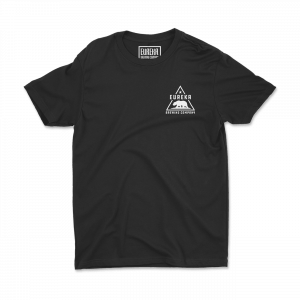 Eureka Brewing black shirt front