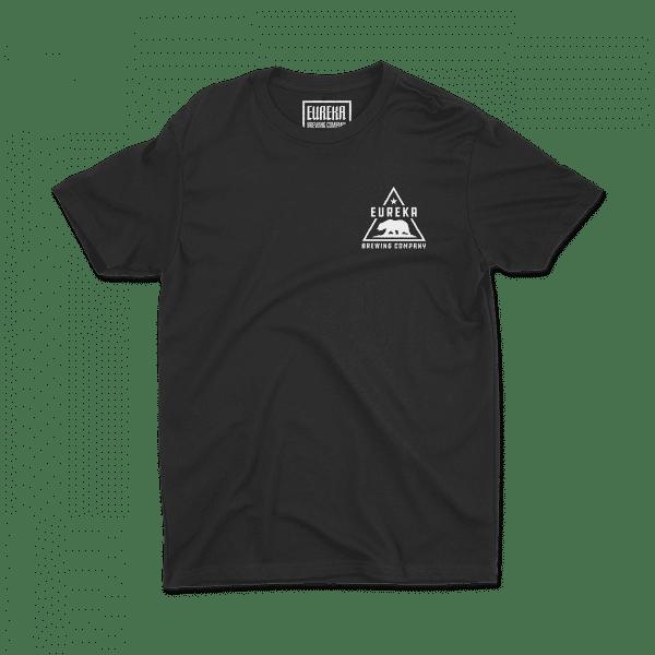 Eureka Brewing black shirt front