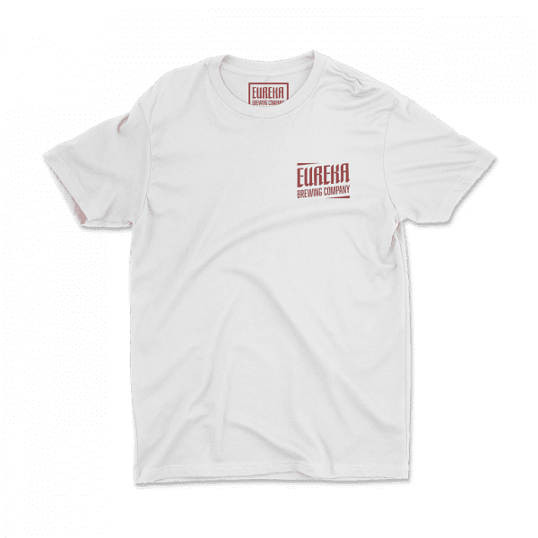 Eureka Brewing Co White shirt front