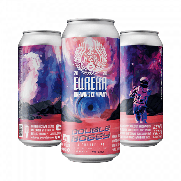 Double Bogey Double IPA from Eureka Brewing