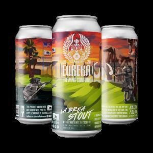La Brea Stout Beer by Eureka Brewing